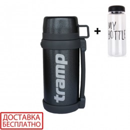 Термос Tramp Greenline TRC-095-grey 1.2 L