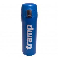 Термос - кружка Tramp 0,45 л синий TRC-107-blue