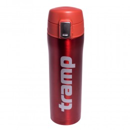 Термос - кружка Tramp 0,45 л красный металлик TRC-107-red