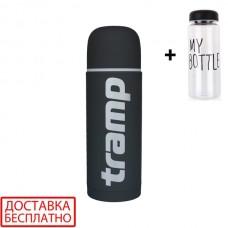Термос Tramp Soft Touch TRC-109 1 л серый