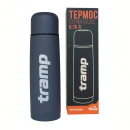 Термос Tramp Basic TRC-112 серый 0,75 л