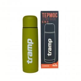 Термос Tramp Basic TRC-112 оливковый 0,75 л