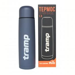 Термос Tramp Basic TRC-113 серый 1 л