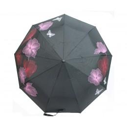 Зонт женский автомат в 3 сложения Flagman 00512-1