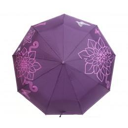 Зонт женский автомат в 3 сложения Flagman 00512-3