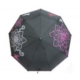 Зонт женский автомат в 3 сложения Flagman 00512-5