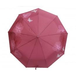 Зонт женский автомат в 3 сложения Flagman 00512-6