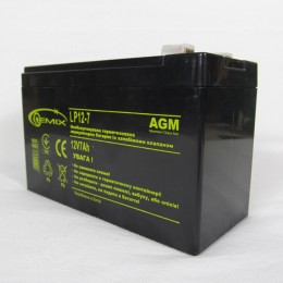 Аккумуляторная батарея 12В, 7А/Ч Gemix