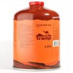 Баллон газовый Tramp (резьбовой) 450 грам TRG-002