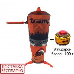 Система для приготовления пищи Tramp 1L TRG-115-orange