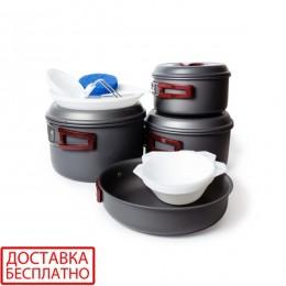 Набор посуды анодированной на 4-5 персон Tramp TRC-026