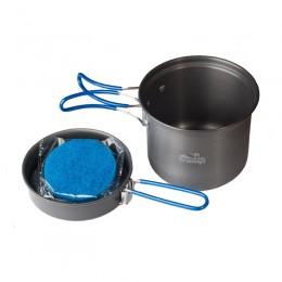 Кастрюля со сковородкой анодированная Tramp TRC-039