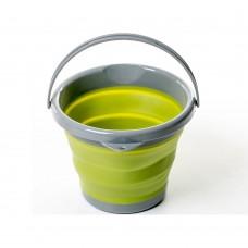 Ведро складное силиконовое Tramp 5L olive