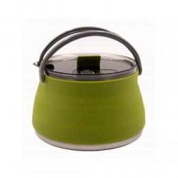 Чайник Tramp силиконовый 1л олива TRC-125