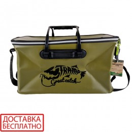 Сумка рыболовная Tramp Fishing bag EVA TRP-030-Avocado-L