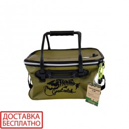 Сумка рыболовная Tramp Fishing bag EVA TRP-030-Avocado-S
