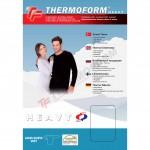Термофутболка с длинным рукавом унисекс Thermoform 1-027